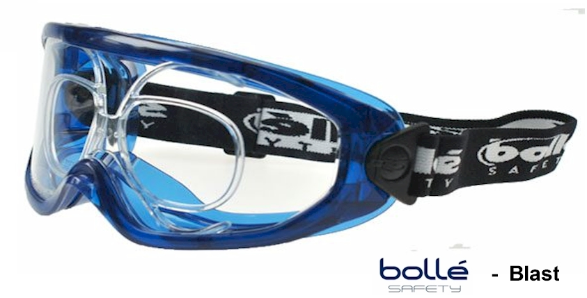 Bolle Blast EN166B Prescription safety goggles
