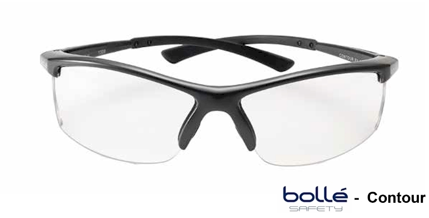 Bolle Contour Semi rimless Prescription safety glasses