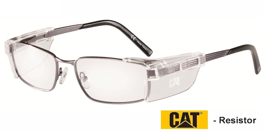 CAT Resistor Prescription safety glasses