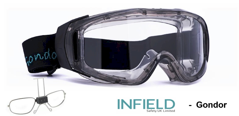 INFIELD Gondor EN166B Prescription safety goggles