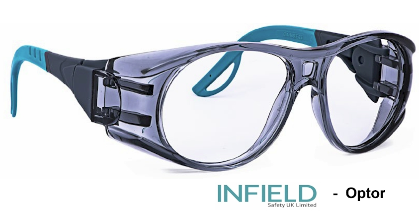 INFIELD Optor Prescription safety glasses
