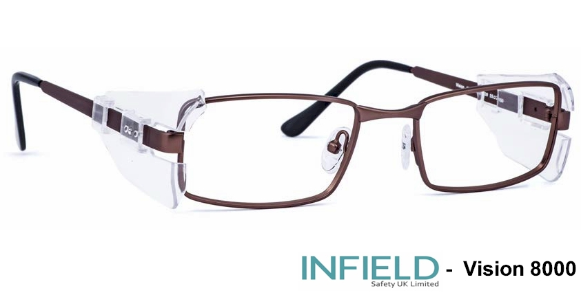INFIELD Vision 8000 Prescription safety glasses