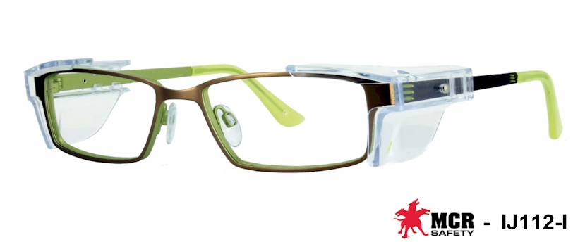 MCR IJ112 Prescription Safety Glasses
