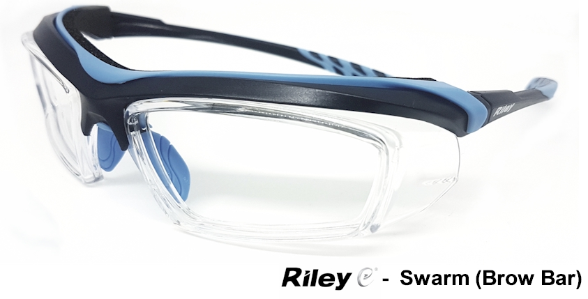 RILEY Swarm (Brow Bar) Prescription safety glasses