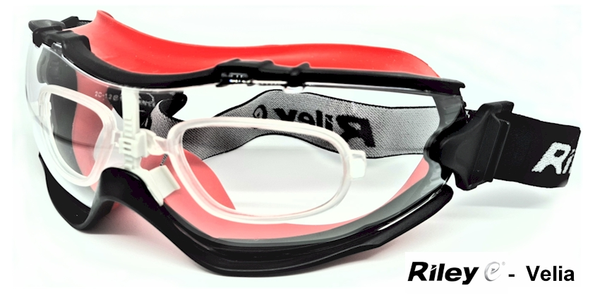 Riley Velia EN166B Prescription safety goggle