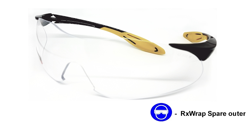 RxWrap (Clear) Replacement Outer frame