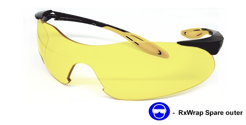 RxWrap (Yellow) Replacement Outer frame