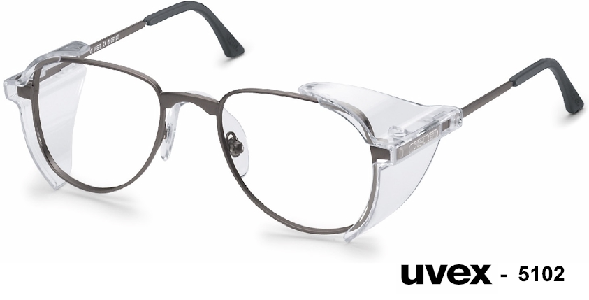 UVEX 5102 prescription safety glasses