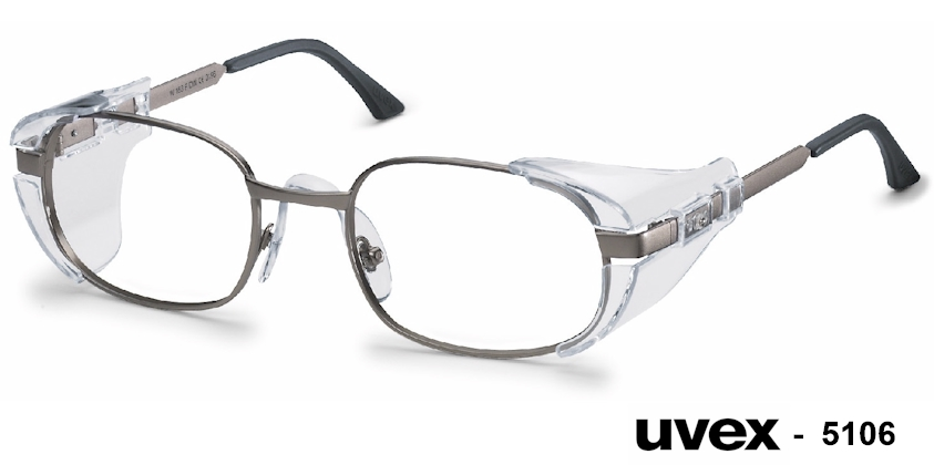 UVEX 5106 prescription safety glasses