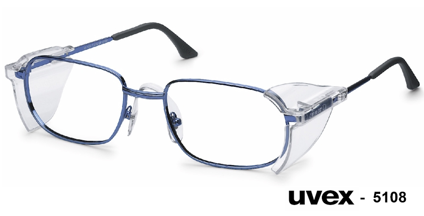 UVEX 5108 prescription safety glasses
