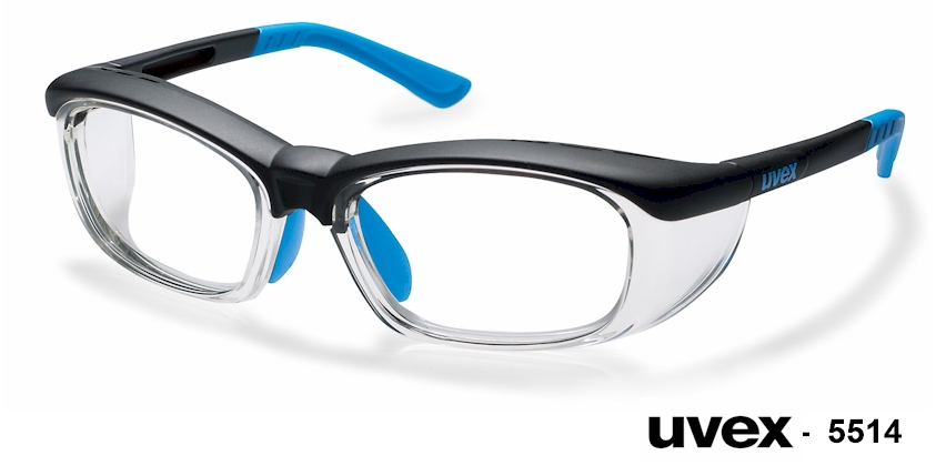 UVEX 5514 prescription safety glasses