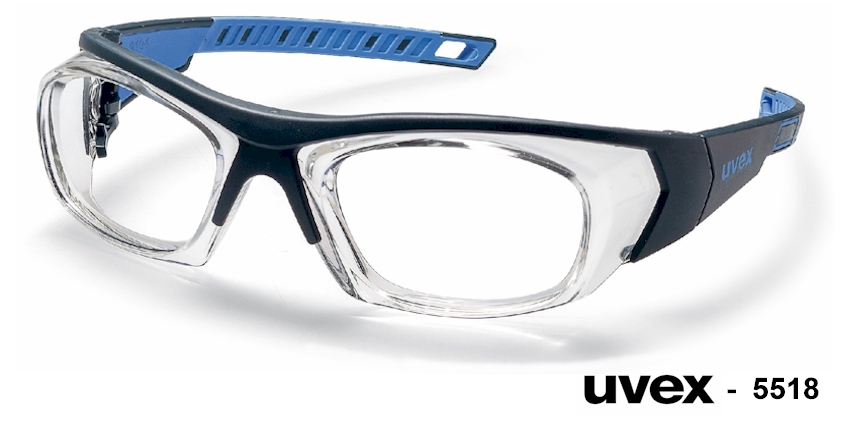 UVEX 5518 prescription safety glasses