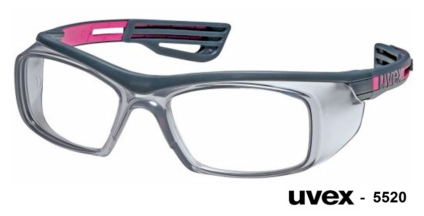 UVEX 5520 prescription safety glasses