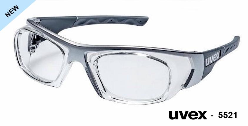 UVEX 5521 prescription safety glasses